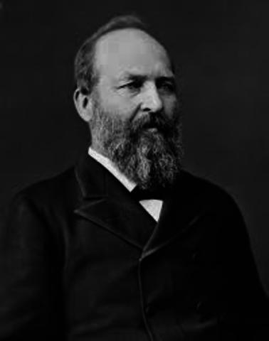James A. Garfield (1881)