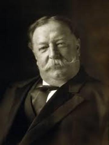 William Howard Taft (1909-1913)