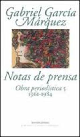 """Notas de prensa, 1961-1984"""""""