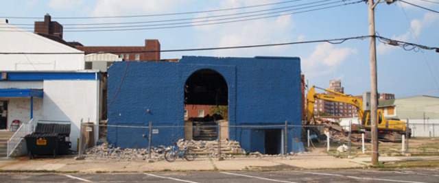 Demolition of the Fast Lane, another of Asbury Park's music venues, begins.