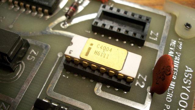 El Primer Microprocesador