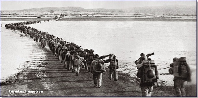 Effect: Chinese Cross the Yalu River