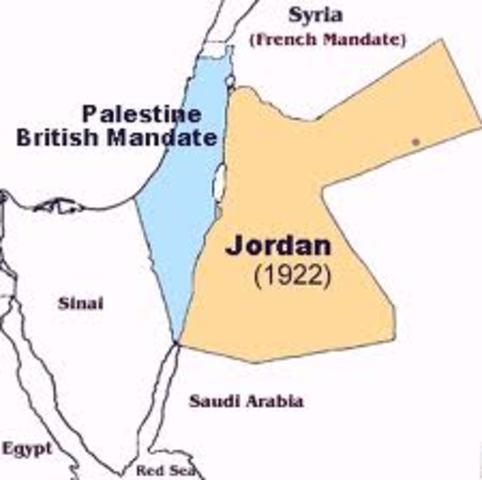Palestine Become British Mandate