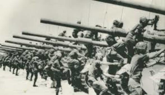 Second Day of the Six day War