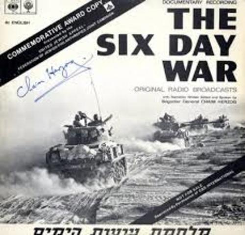 Fifth day of the Six day war