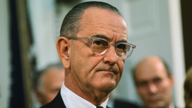 Troop Increase Announced by President Johnson