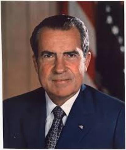 Richard M. Nixon Becomes President