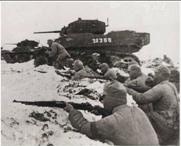 End of the Battle of Huai Hai