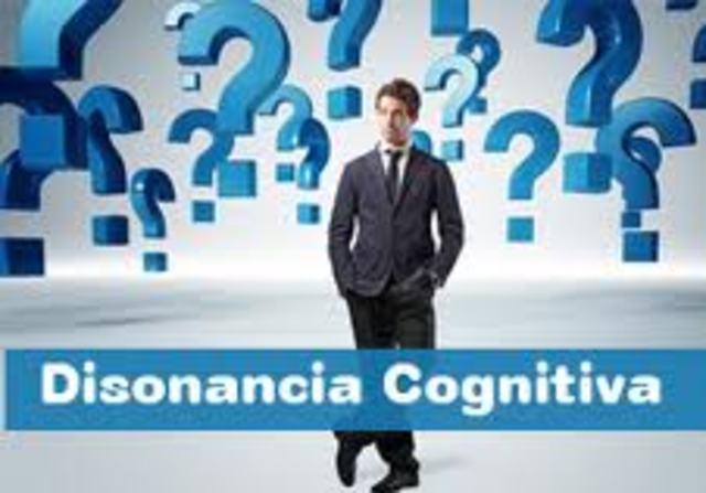 """Festinger """"Teoría de la Disonancia Cognitiva""""***EJEMPLO"""
