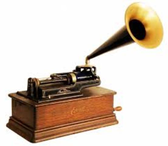 Thomas Edison invents the phonograph