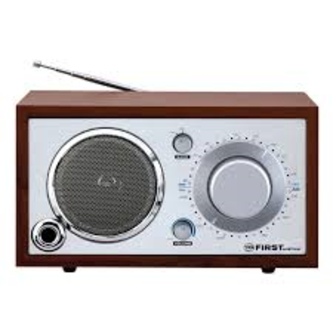 Lee de Forest invented public radio broadcast