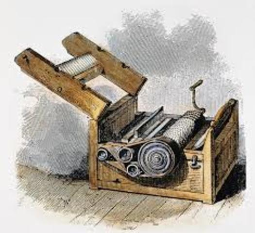Cotton Gin was invented