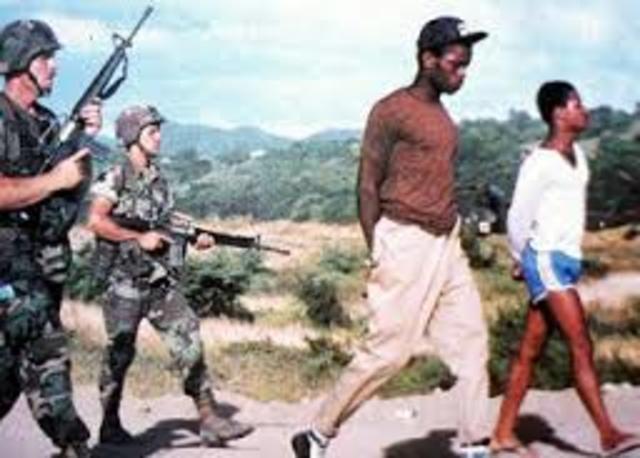 U.S invades Grenada