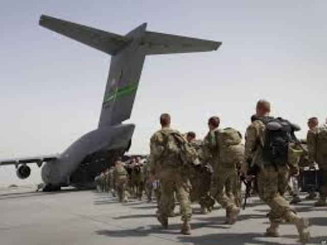 Withdrawal of the US troops