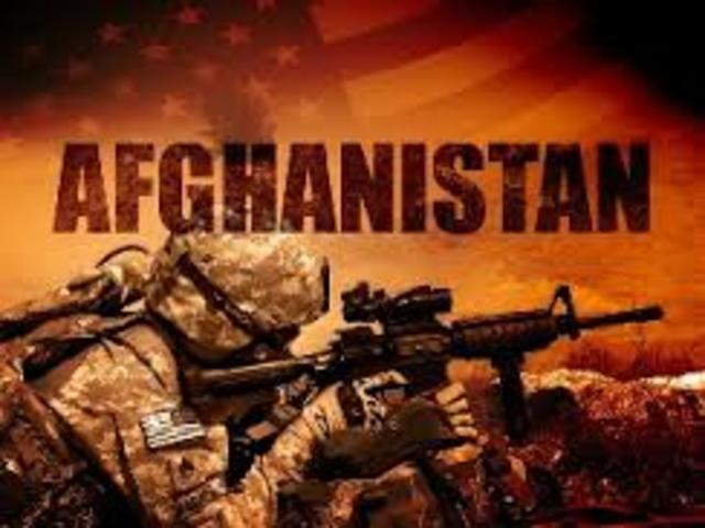 The War In Afghanistan Begins