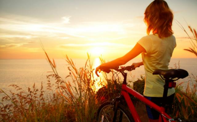 Первая поездка на велосипеде