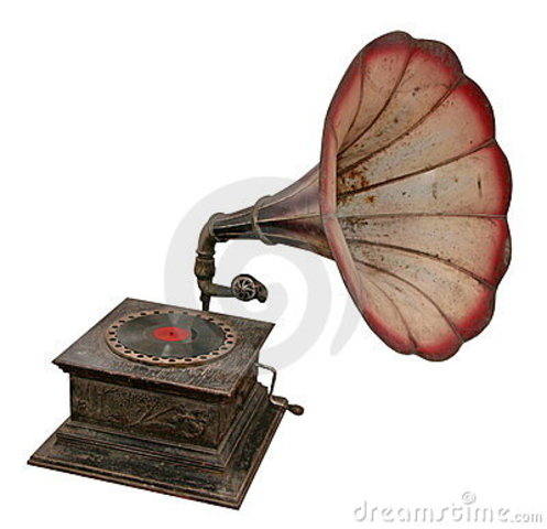 1.876 El Gramófono o fonógrafo