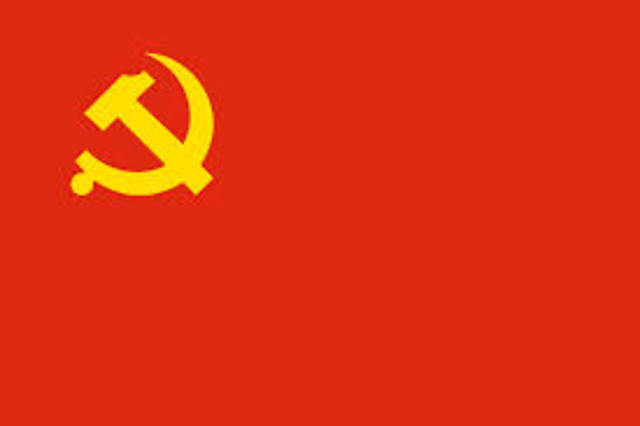 Chinese Communist Party (CCP)  formed