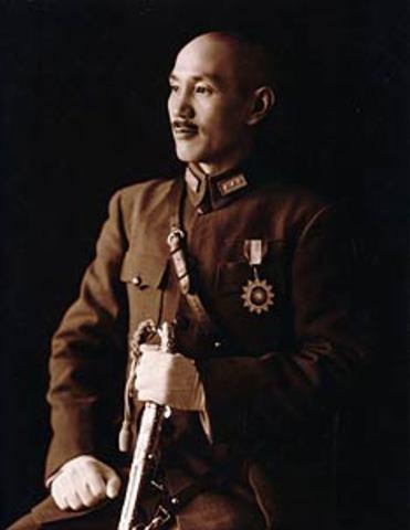 Jiang Jieshi takes power