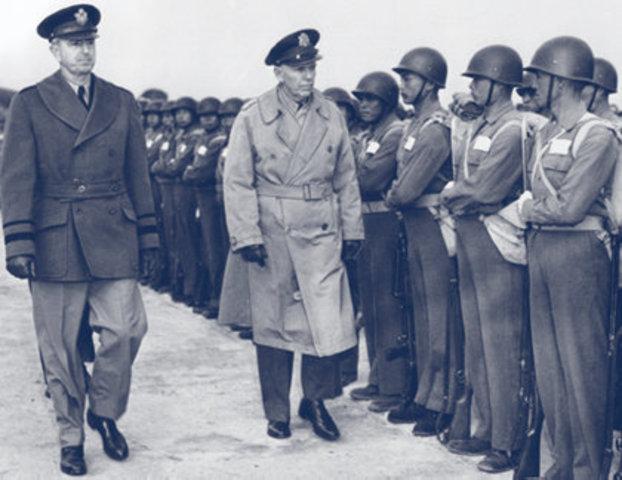 Marshall leave China
