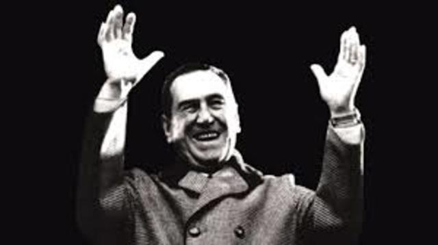 Tercer Mandato de J.D. Perón