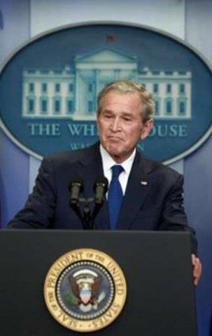 President Bush address to Mathematics Panel