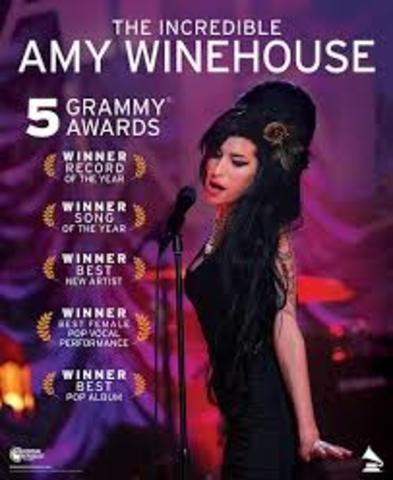 Victoire dans les Grammy Awards