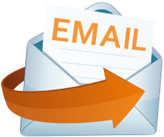 1.971 Nace el servicio de email