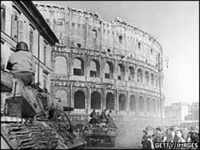Rome falls to the Allies