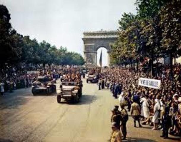 Paris is liberated