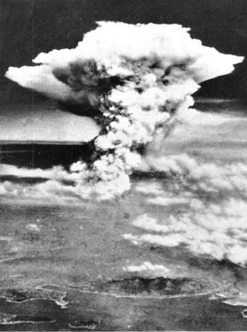U.S. drops first atomic bomb