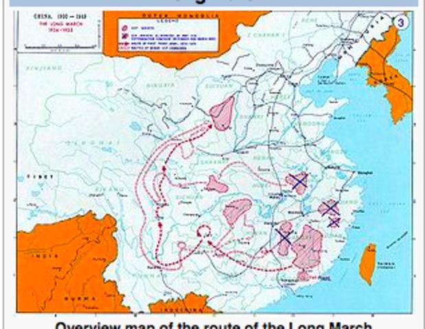 Long March begins