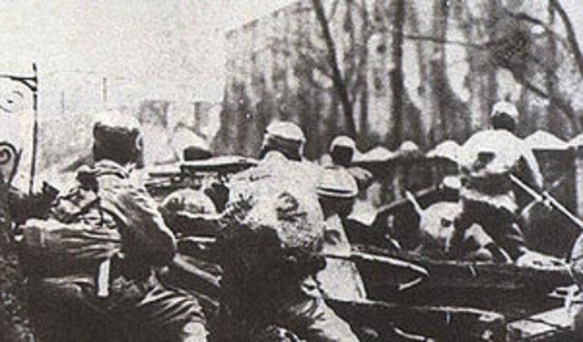 Japan Attacks Shanghai