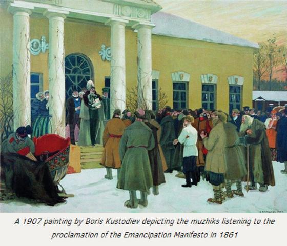 The Emancipation of the Russian Serfs (Abolishment of Serdom)