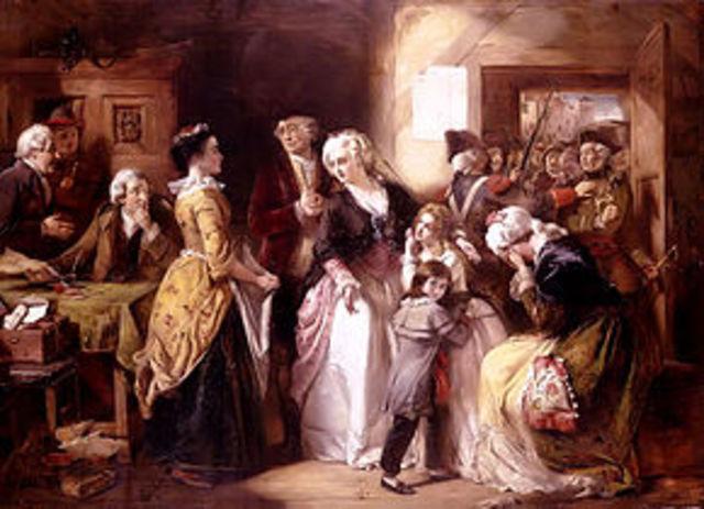 Flight of the Royal family