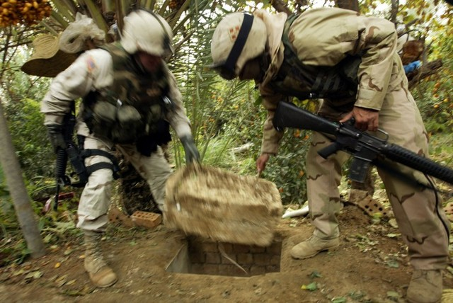 Saddam Hussein Is Found And Captured By U.S Forces In Ad-Dawr, Iraq