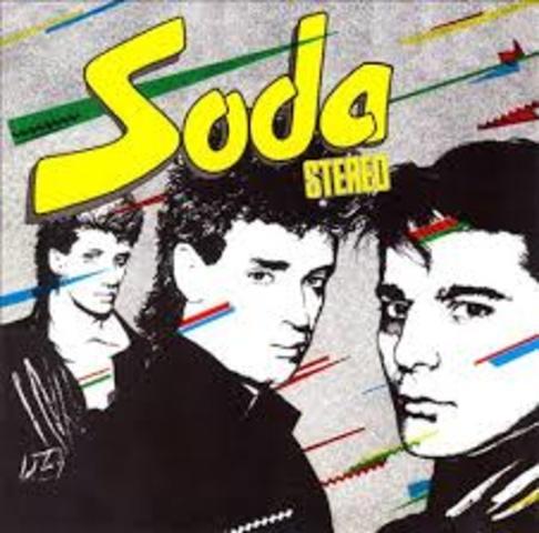"""Primer Disco """"Soda Stereo"""""""