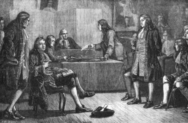Newton Elected as Member of Royal Society of London