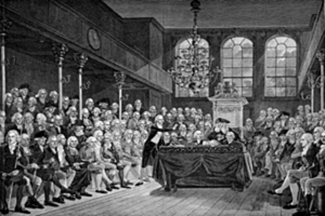 Newton Elected as a Member of the Parliament by Cambridge Senate