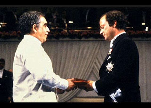 Entrega del premio nobel