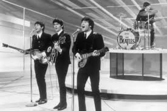 The Beatles perform in U.S. for the first time