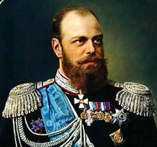 Alexander III, Czar of Russia (1845-1894)