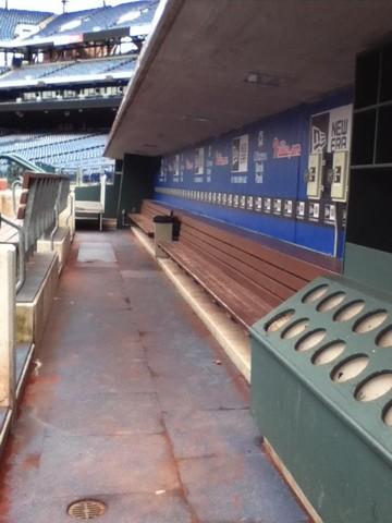 Hace dos años que tomé un tour por el estadio de los Phillies, ciudadanos Banco de parque.
