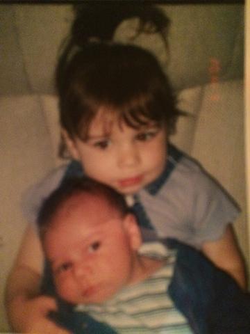 Hace trece años que mi hermano nacío.  Se llama de mi hermano es Harry.