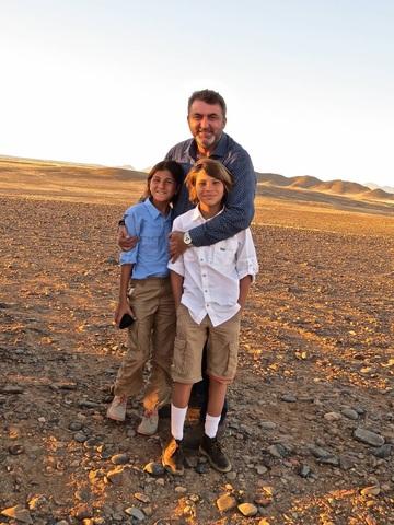 Agosto 31, 2014: El año pasado en agosto yo fui a Namibia en Africa para un mes en el verano con mi familia.