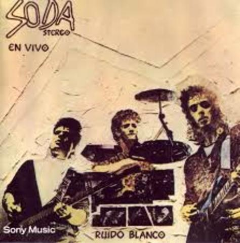 "Album en vivo ""Ruido Blanco"""