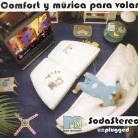 "Album""Comfort y Música para volar"" Unpluggedd"