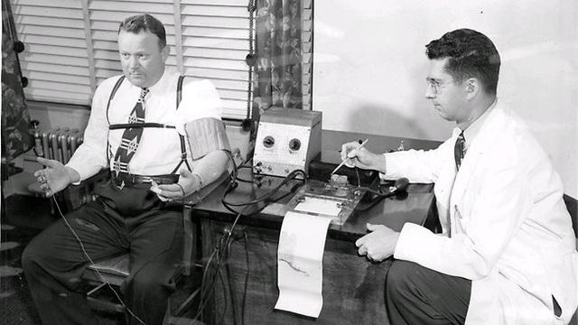 John Larson invents the lie detector