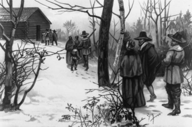 Pilgrims Survive 1st Winter