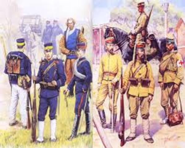 Russo-Japanese War (Begining)